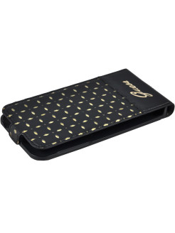 Чехол Guess для Galaxy S5Mini Gianina Flip Black GUESS