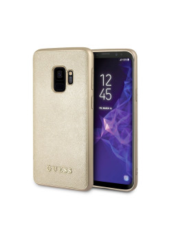Чехол для Samsung Galaxy S9 Iridescent Hard PU Gold GUESS