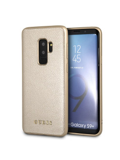 Чехол для Samsung Galaxy S9+ Iridescent Hard PU Gold GUESS