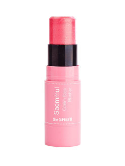 Румяна кремовые Saemmul Cream Stick Blusher PK02 Rose Fire the SAEM