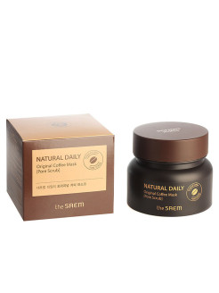 Маска для лица кофейная Natural Daily Original Coffee Mask the SAEM