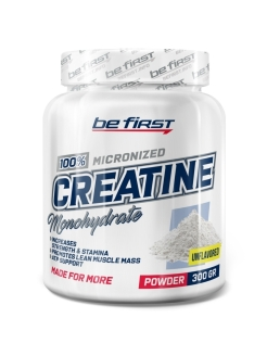 Креатин Creatine Micronized Powder (нейтральный), 300 гр be first