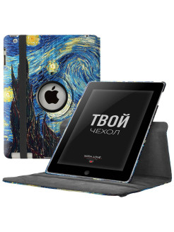 "IPad 2/3/4 ""ROTATOR 360"" swivel case. Smart stand for tablet Aypad 2/3/4 With Love. Moscow"