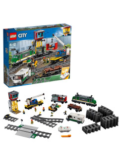 Конструктор LEGO City Trains 60198 Товарный поезд LEGO