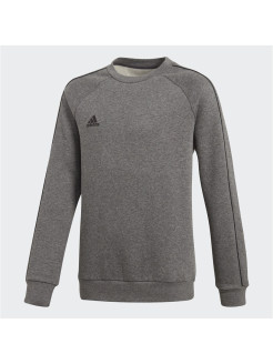 Свитшот CORE18 SW TOP Y   DGREYH/BLACK Adidas