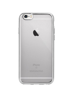 Клипкейс IS FRAME Apple iPhone6/6S серебр. INTERSTEP