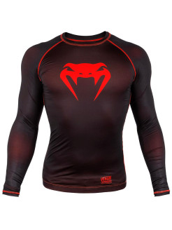 Рашгард  Contender 3.0 Black/Red L/S Venum