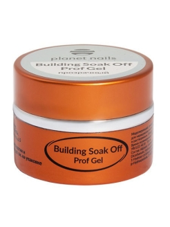 Гель - BUILDING SOAK OFF PROF GEL 15 г Planet Nails