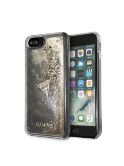 Чехол для iPhone 7Plus/8Plus Glitter Hard PC Gold GUESS