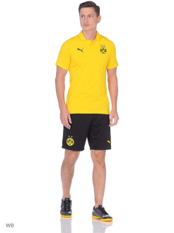 Поло BVB Casual Polo PUMA