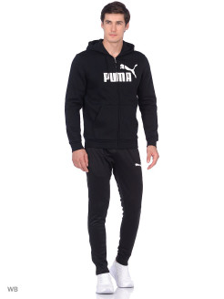 Толстовка Essentials Fleece Hooded Jkt PUMA