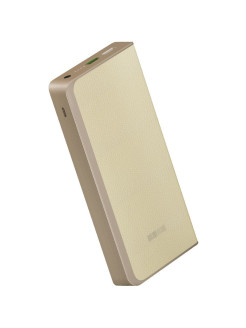 Внешний Аккумулятор Power Bank PB12000QC мАч 2USB/2A, QC IN/OUT INTERSTEP