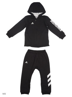 Костюм  I LING FZHDJ FT     BLACK/WHITE Adidas
