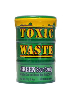 Кислые Леденцы Green Toxic Waste