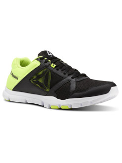 Кроссовки YOURFLEX TRAIN 10 M BLACK/SOLAR YELLOW/W Reebok