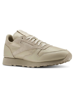 Кроссовки CL LEATHER MU PARCHMENT/SUPER NEUT Reebok