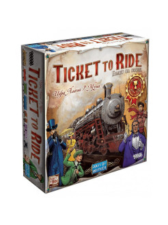 Ticket to Ride. Америка Hobby World