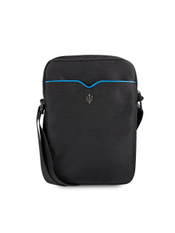 Сумка Maserati для планшетов 10''  Gransport Bag Nylon Black/Blue Maserati