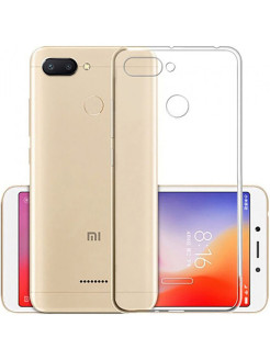 Чехол для Xiaomi Redmi 6 . Накладка ClearView для сяоми, ксиоми Redmi 6 GOSSO CASES