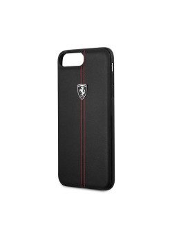 Чехол  для iPhone 7Plus/8Plus Heritage W Hard Leather Black FERRARI