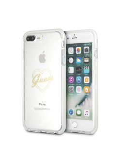 Чехол  для iPhone 7Plus/8Plus Shockproof Hard PC Gold GUESS