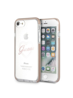 Чехол  для iPhone 7/8 Shockproof Hard PC Pink GUESS