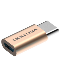 Адаптер-переходник Vention USB Type C M/ USB 2.0 micro B 5pin F Vention