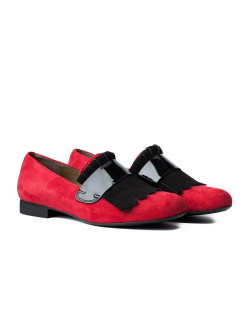 "Слиперы ""КОРРИДА"" RABBIT LOAFERS"