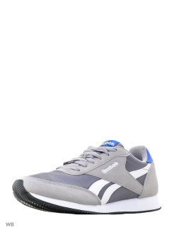 Кроссовки REEBOK ROYAL CL JOG TIN GREY/F.GRY/BLU/W Reebok