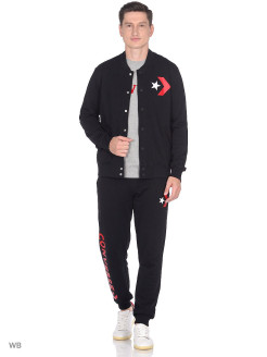 Бомбер Star Chevron Graphic Bomber Slim Fit Converse