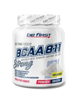 Аминокислоты BCAA 8:1:1 Instantized Powder, без вкуса, 250 гр. be first
