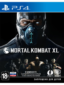 Mortal Kombat XL [PS4, русские субтитры] WB Interactive