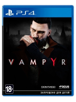 Vampyr [PS4, русские субтитры] Focus Home Interactive