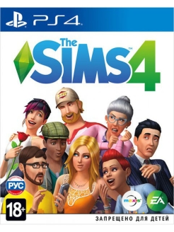 Sims 4 [PS4, русская версия] Electronic Arts