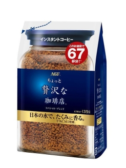Кофе растворимый AGF (ЭйДжиЭф) 135 гр. Ajinomoto General Foods, INC (AGF)