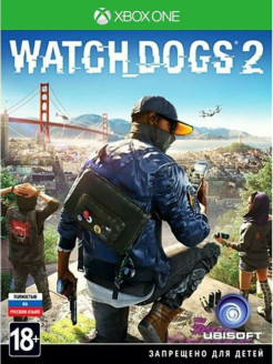 Watch Dogs 2 [Xbox One, русская версия] Ubisoft