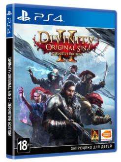 Divinity. Original Sin II. Definitive Edition [PS4, русские субтитры] Namco Bandai / Atari