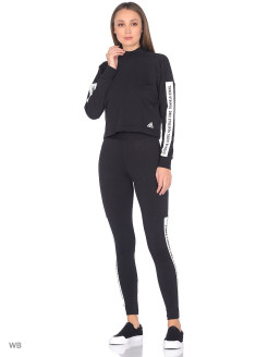 Тайтсы W SID Tight         BLACK/BLACK/WHITE Adidas
