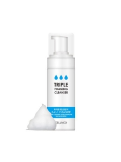 Пенка для умывания 3 in 1 Triple Foaming Cleanser CELLNCO