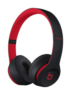 Наушники Solo3 Wireless On-Ear Headphones - The Beats Decade Collection - Defiant Black-Red Beats