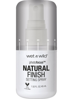 Спрей Для Фиксации Макияжа Photo Focus Setting Spray - Natural Finish E301a seal the deal Wet n Wild