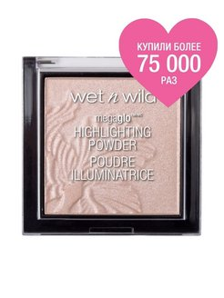 Пудра - Хайлайтер MegaGlo Highlighting Powder E319b blossom glow Wet n Wild