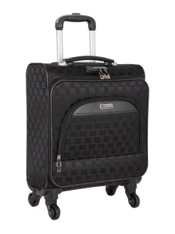 Suitcase Pilot small, size S, hand luggage, compartment under the laptop, combination lock, 4 wheels, extendable Polar