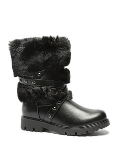 Fur high boots Shuzzi