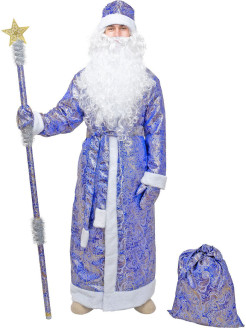 Costume Santa Claus from brocade ПраздникСнаб