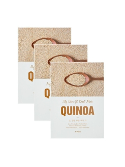 Набор тканевых масок MY SKIN-FIT SHEET MASK QUINOA с экстрактом киноа, 3*25г A'PIEU