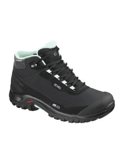 Ботинки SHOES SHELTER CS WP W Bk/Bk/Eggshell B SALOMON