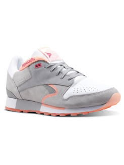 Кроссовки CL LEATHER URGE     WHITE/S GREY/D PINK/ Reebok