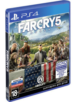 Far Cry 5 [PS4, русская версия] Ubisoft