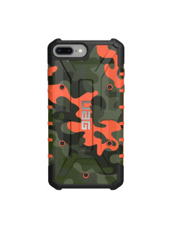 UAG Pathfinder Protective Case for iPhone 8/7 Plus color Orange Camouflage / IPH8 / 7PLS-A-RC / 32 UAG
